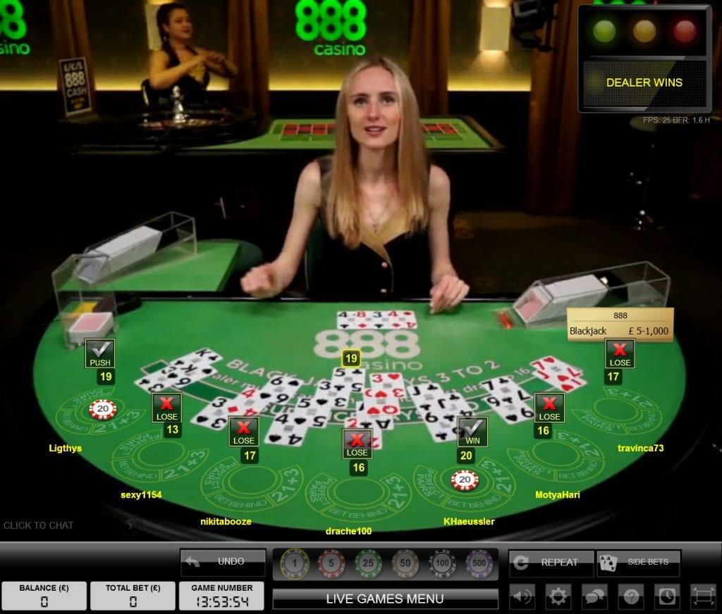 888の生きているカジノ